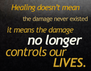 It no longer controls our lives.