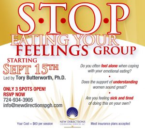 compulsive eating group - new directions